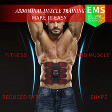 Smart EMS Stimulator Training Fitness Gear Muscle Abdominal Exerciser Toning Belt Battery Abs Fit Muscles Intensive Training цена 2017