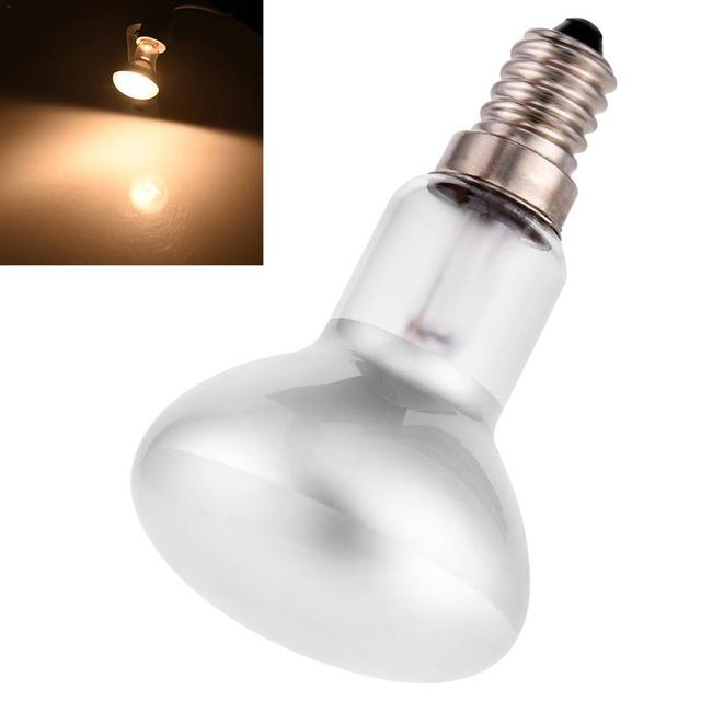 Edison Bulb E14 Lamp Holder R50 Reflection Point Bulb Lava Lamp Incandescent Lamp