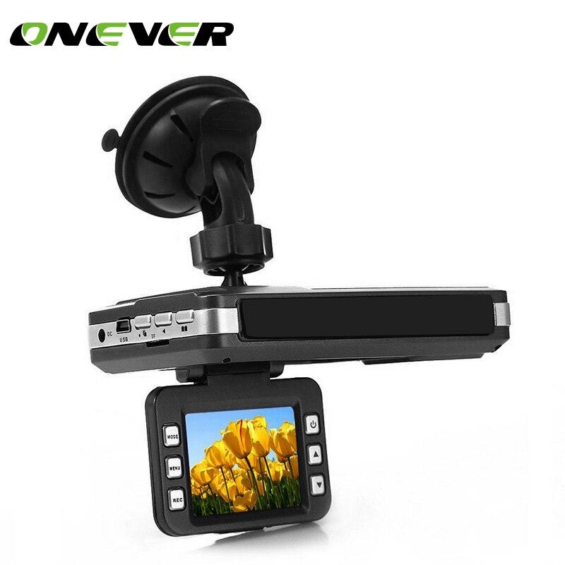 Onever 2 0 LCD HD 720P Car Camera DVR Dash Cam Recorder Radar Laser Speed Detector