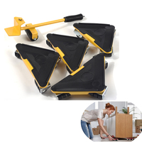 Furniture Mover Dolly Trolley Transport Removal Set Tool Heavy Duty Lifter Wheel Mover Household Tool Sets F028