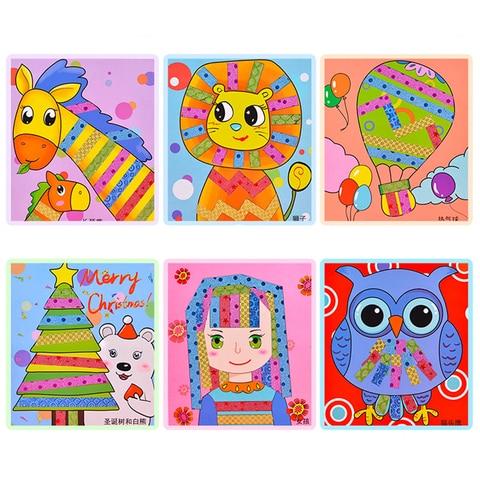 1 conjunto criancas brinquedos educativos fitas coloridas