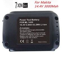 14.4 В 3000 мАч литий-ионный аккумулятор для Makita BL1430 194065-3 194066-1 BDF343 BDA341 BGA450Z BDF440 BDF442 BFR440 BFR540 TW152DZ