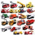 Hot sale Truck 1:32 MAN SCANIA car model 2148 kids toy alloy boy Transporter garbage truck Shell big size 27*8*11cm gift Cement
