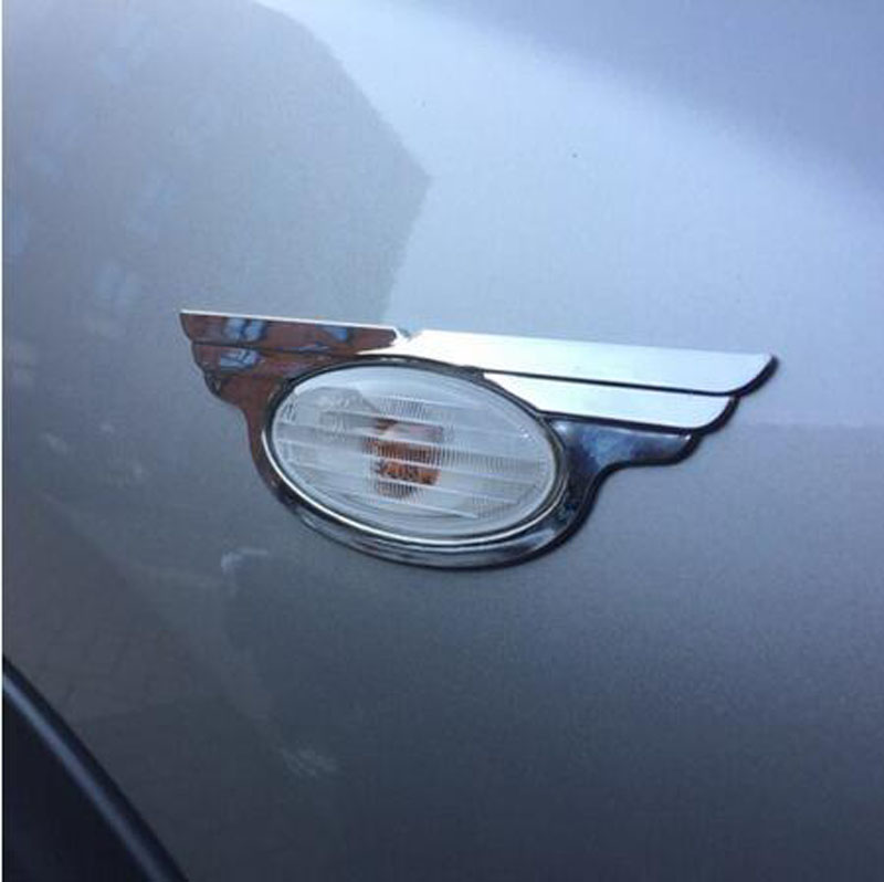 Chrome Side Cover Auto Turn Signal Covers