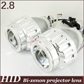 2.8'' inch  HID Bi-xenon Projector Lens  Angel Eye high low beam H4h/l H1h/l H7h/l 9005h/l 9006h/l 4300k 6000k 8000k devil eyes