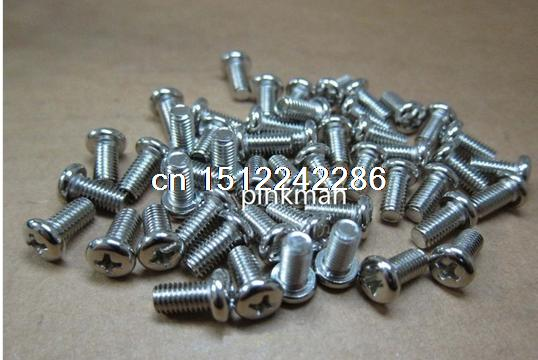 100 pcs <font><b>M5</b></font> x <font><b>10mm</b></font> Philips Head <font><b>Screw</b></font>_ stainless steel image