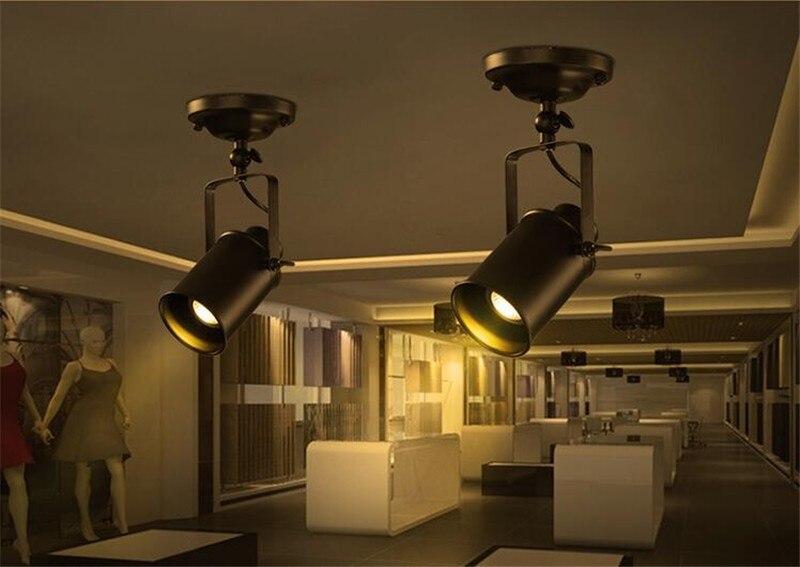loft lâmpadas led industrial do vintage ferro