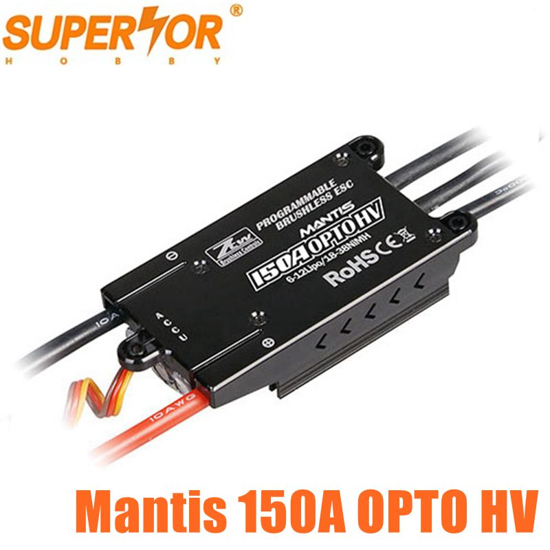 ZTW Mantis 150A OPTO HV SBEC SBEC ESC Brushless Speed Controller-in Onderdelen & accessoires van Speelgoed & Hobbies op  Groep 1