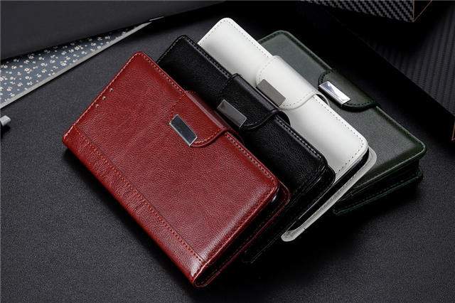 Business Magnetic Leather Wallet Case for iPhone 11/11 Pro/11 Pro Max 1