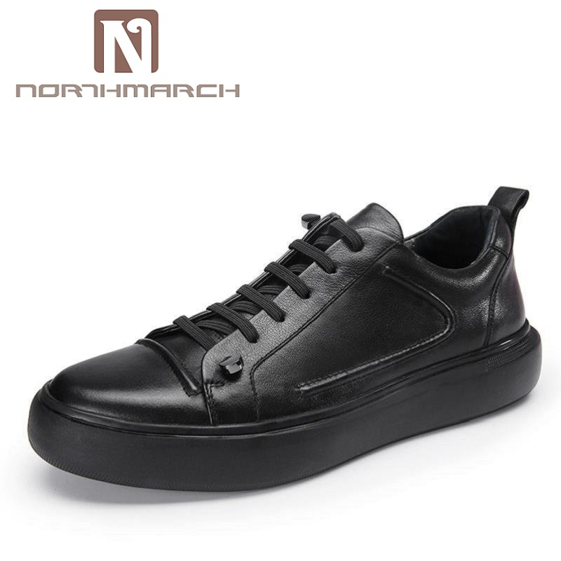 NORTHMARCH British Style White Shoes Designer Handmade Men Casual Shoes Men Soft Bottom Flats Shoes zapatillas hombre casual maden 2017 new fashion designer men leather casual shoes high quality zapatillas deportivas hombre british style summer shoes