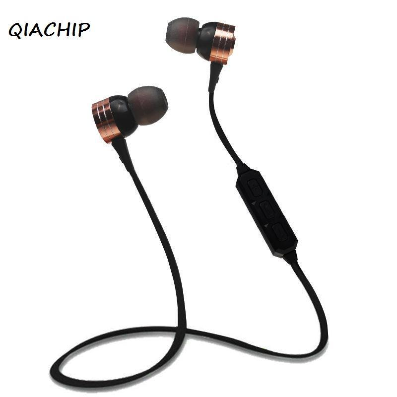 QIACHIP Wireless Headphone Stereo Bluetooth 4.0 Earphone Sport Headset Fone de ouvido For Phone Neckband Ecouteur Auriculares roswheel 12659 waterproof cycling bicycle pu top tube double storage bag black