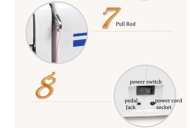 Máquina de costura sartório Roupas ajuste da Velocidade de Máquinas de processamento de eletrodomésticos Máquina de Costura Plana