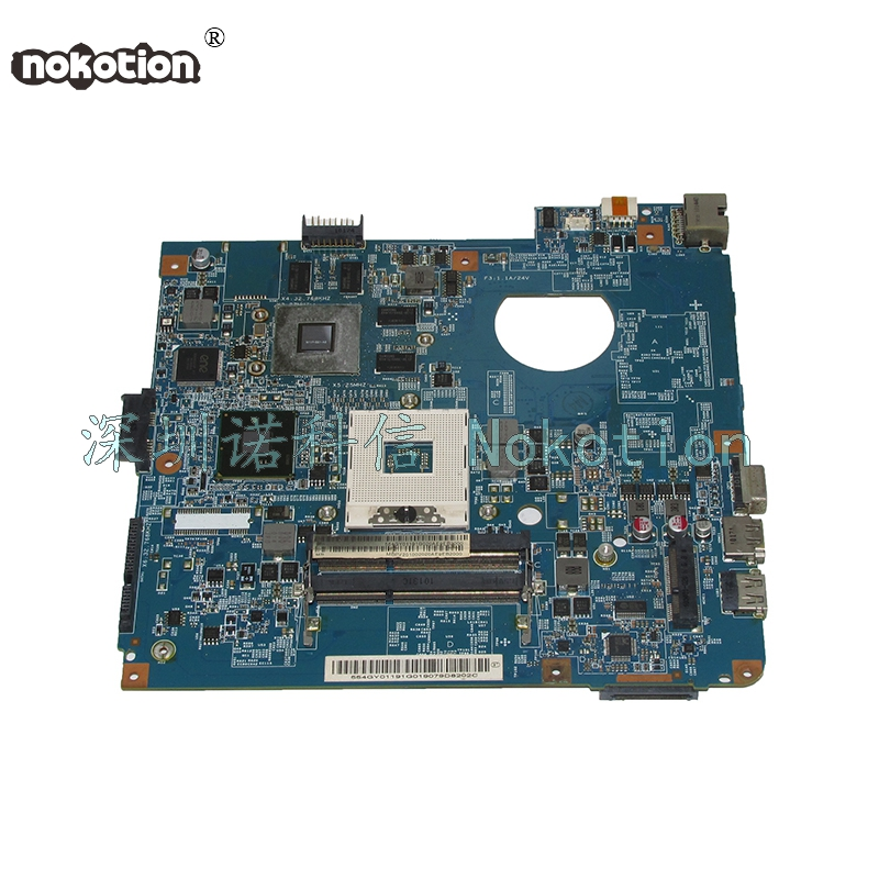 NOKOTION JE40-CP MB 48.4GY02.021 MBPV201002 MB.PV201.002 Main board For acer Aspire 4741 laptop motherboard HM55 DDR3 GT330M nokotion laptop motherboard for acer aspire 4752 4755 je40 hr mb 10267 4 48 4iq01 041 hm65 ddr3 mbrpt01001 mb rpt01 001