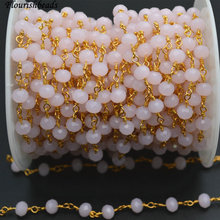 Anti Rust Gold Color Wire Linked