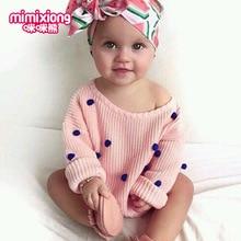 Зимний свитер для маленьких девочек; Однотонный детский пуловер для новорожденных; милый детский топ с длинными рукавами для девочек; Roupas Bebe; шерстяные аппликации