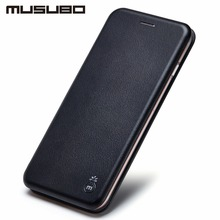 New Fashion Leather Flip Case For iPhone 7 PU Mobile Phone Cases for Apple iphone Plus Stand Cover With Card Slot