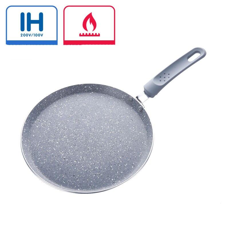 6'' 8'' 10'' Frying Pan Anti-stick Pan Multilayer Cake Pot Egg Cake Frying Pan