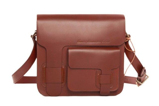 Rockcow 100 Handmade Genuine Leather Messenger Bag Shoulder Mens Satchel