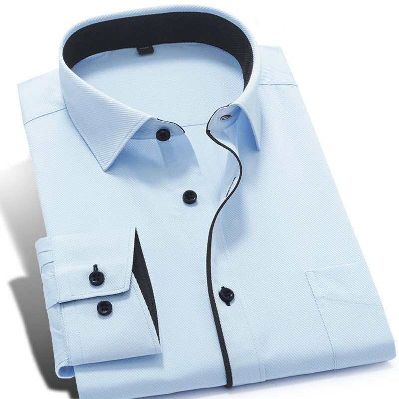 Compare Prices on White Dress Shirt Black Buttons- Online Shopping ...