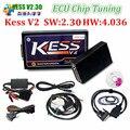 HW V4.036 V2.30 V2.28 KESS V2 OBD2 Gerente Sintonia Kit ECU Tuning Chip Ferramenta Mestre Versão Sem Tokens Limitada