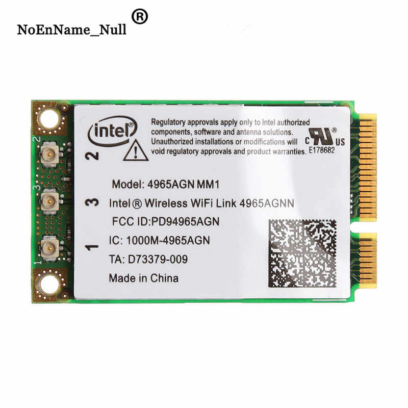 Banda Dual 2,4 GHz/5 Ghz a 300Mbps WiFi Link Mini PCI-E de la tarjeta inalámbrica Intel 4965AGN NM1 dropshipping. Exclusivo.