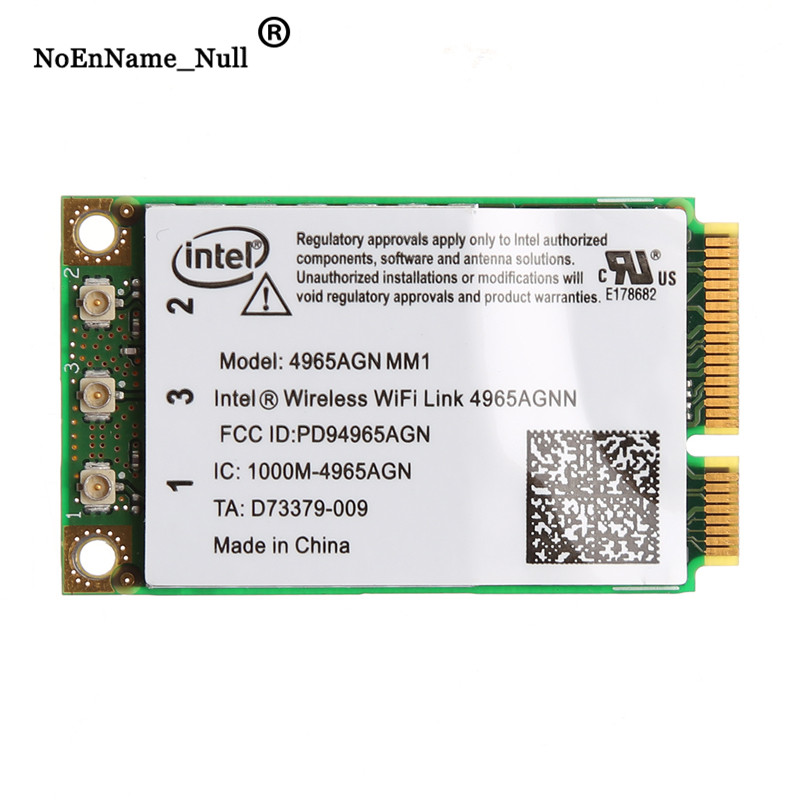 Dual Band 2.4 GHz/5 Ghz 300Mbps WiFi Link Mini PCI-E Wireless Card For Intel 4965AGN NM1 Dropshipping