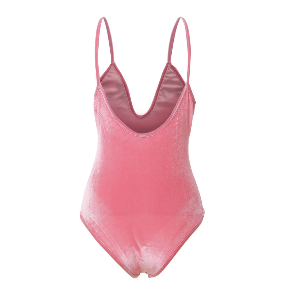 5169ace6409ce Aliexpress.com : Buy Wine red Sexy Monokini Velvet Swimsuit Lady High Cut Bathing  Suit Monokinis Swimwear Women One Piece Swimsuit Swimwear S to XL from ...