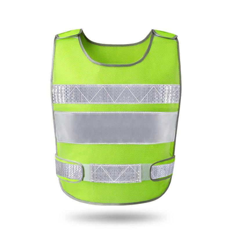 Motorrad-zubehör & Teile Einfach Reflektierende Weste Automobil Jährliche Bau Prozess Von Fluoreszierende Kleidung Weste Sicherheit Schutz Mantel