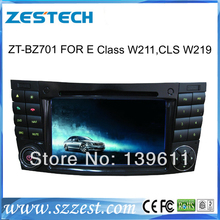 ZESTECH Free Shipping In dash Touch Screen car dvd for mercedes benz w211 dvd GPS Navigation System IPOD+TV+AM/FM+BT+GPS+CANBUS