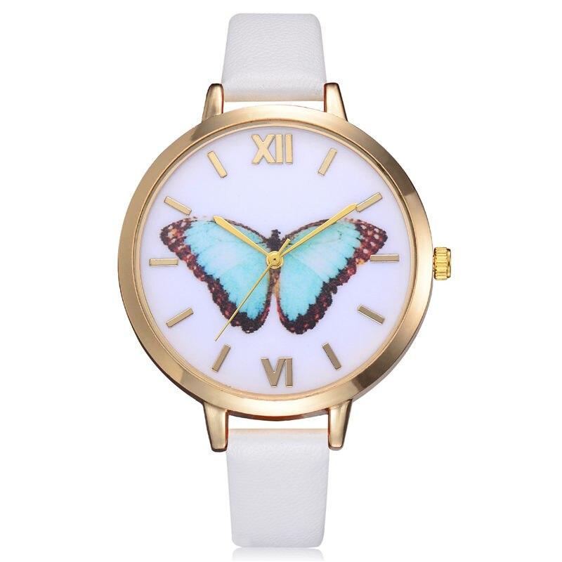 Reloj موهير الأزياء الإبداعية فراشة - ساعات نسائية