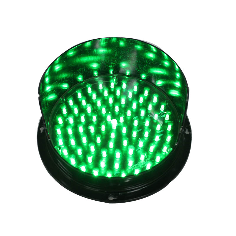 New products high brightness 200mm lamp green led flashing mini led traffic signal light