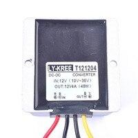 รถยนต์DC 12โวลต์4Aควบคุมแรงดันไฟฟ้าป้องกันไฟกระชากควบคุมแหล่งจ่ายไฟสำหรับรถบรรทุกรถยนต์ยาน...