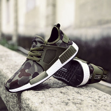 Hot Sale Shoes Man Sneakers 2018 Camouflage Casual Shoes fashion Men Footwear Designer Sneaker Adult Male Tennis big 39-48