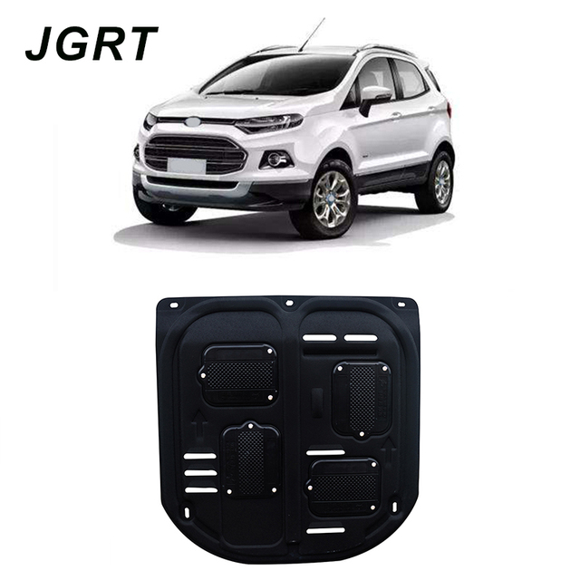 Car styling For Ford Ecosport plastic steel engine guard For Ecosport 2013-2017 Engine skid plate fender 1pc 1