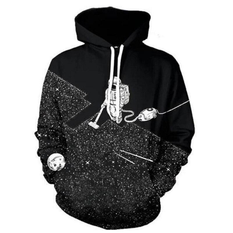 New Spring Fashion Men/Women Long Sleeves Hoodies Street Style Cool 3D Printing Sweatshirt Polluver