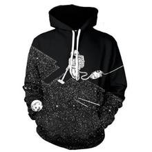 Neue Frühlingsmode Männer/Frauen Mit Langen Ärmeln Pullover Hip Hop Stil Cool 3D Druck Sweatshirt Polluver