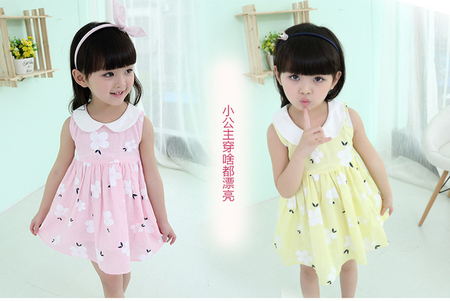 3 10 Year Old Girls Clothes 2015 Summer Baby Girls Dress Leisure And