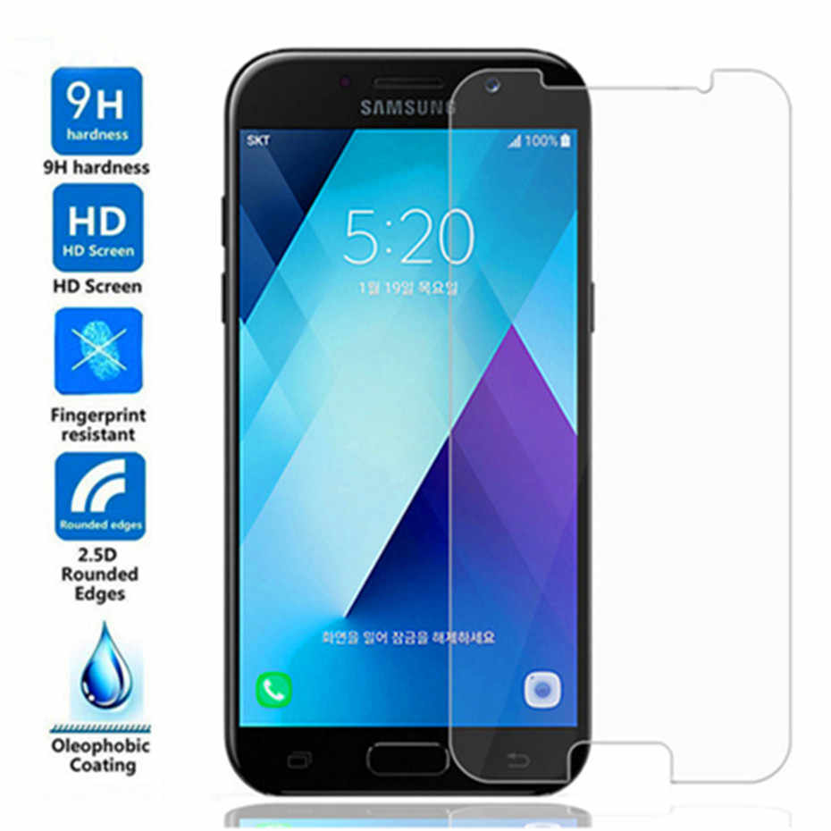 9h screen protector protective glass for samsung galaxy J3 J5 J7 2016 2017 tempered glass on samsung J2 J5 J7 prime