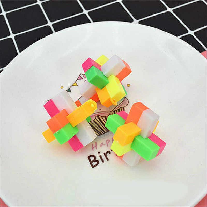 1 قطعة كونغ مينغ قفل عمل أرقام بولي كلوريد الفينيل لعبة مجسمة هدايا لعب للأطفال جودة عالية في كيس مقابل