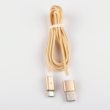 Magnetic Nylon Braided Fast Charging Type-C Cable For LG V20 V30 G6 High Speed Type C