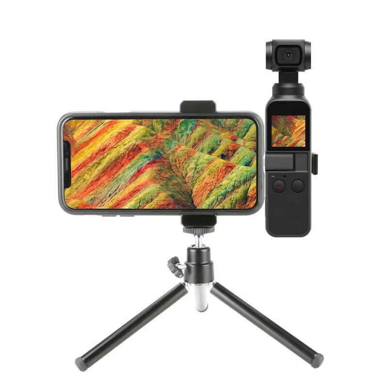 For DJI Osmo Pocket Camera Gimbal Tripod Bracket Mount Phone Holder Accessory