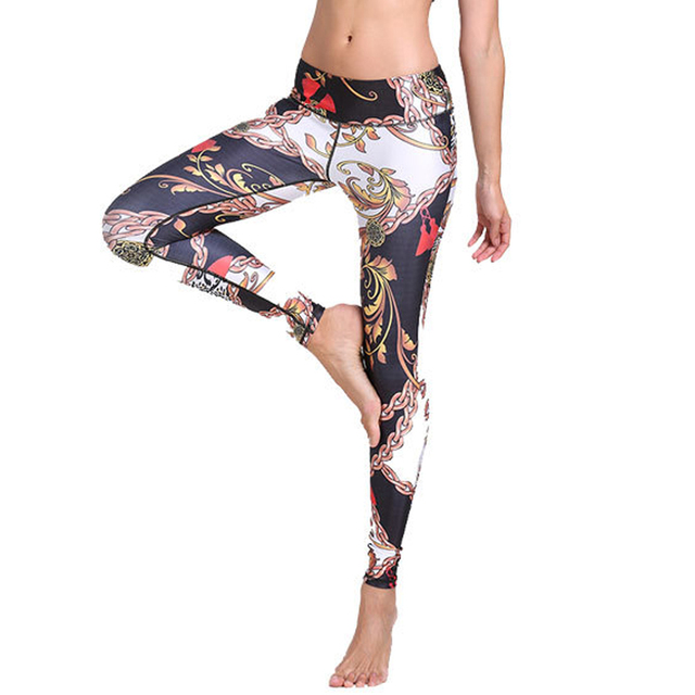 5f5ed4aebba81 New 3D Sublimation Print Breathable Yoga Pants Elasticity Sports Tights  Women Gym Fitness Leggings Running Long Pants Wholesale