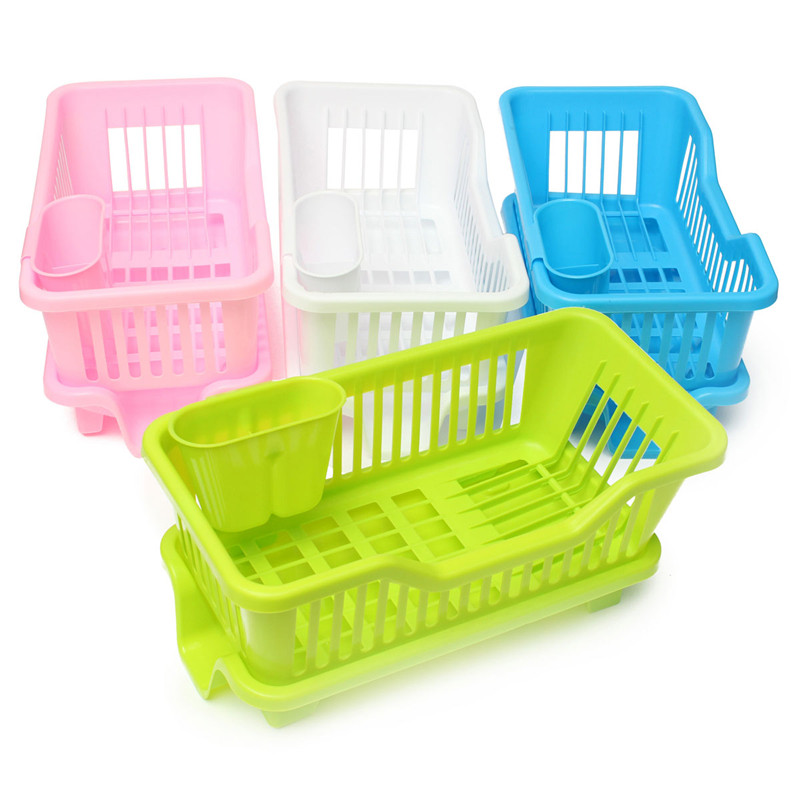 Kitchen Drainer Basket Gray Cabinets Morganstar Dish Sink Drying Rack Wash Holder Product Details Of Organizer Tray Blue