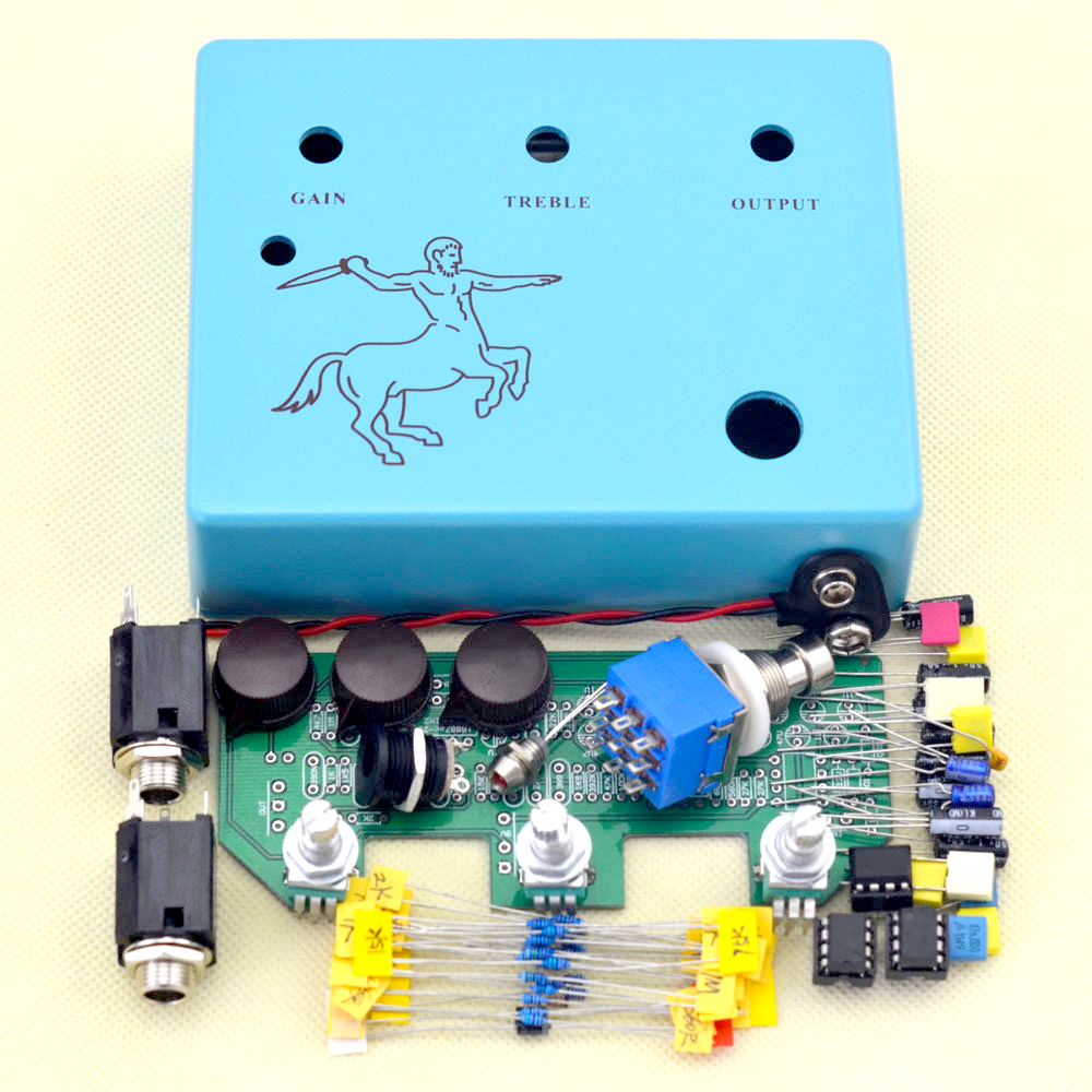 diy klon guitar overdrive pedal stompbox true bypass high quality guitar pedal instrument. Black Bedroom Furniture Sets. Home Design Ideas