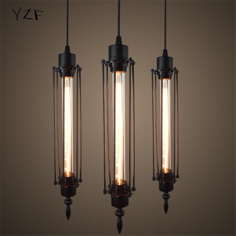 Retro Creative Art Flute Pendant light E27 iron industrial Wind Pendant lamp for Warehouse/Restaurant/Coffee Bar/Bedroom