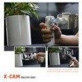 ET X-Cam 2-Axis Ручной бесщеточный Gimbal стабилизатор steadycam видео Bluetooth телефона Self Selfie Палочки для Iphone Xiaomi Huawei