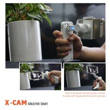 Et x-cam-axis handheld gimbal brushless steadycam video bluetooth del telefono stabilizzatore auto selfie stick per iphone xiaomi huawei