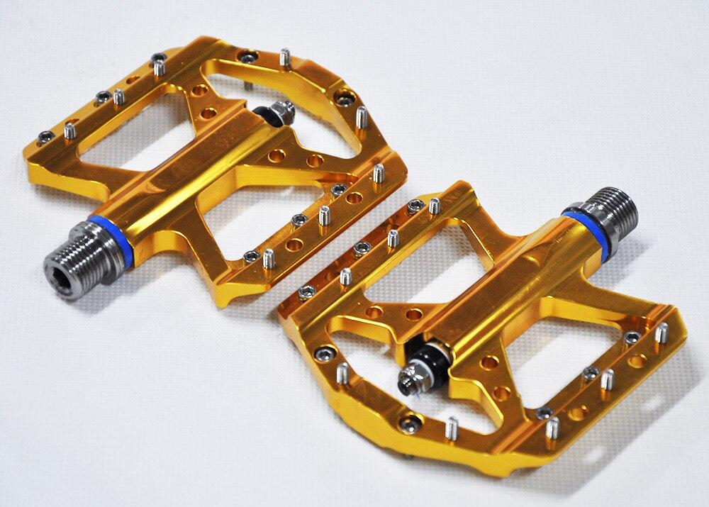Nouveau 230G ultra-léger titane axe vtt/route vélo pédales titane vélo pédales axe cyclisme plate-forme titane pédales - 2