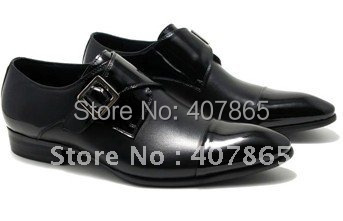 Newest style men's dress shoes  free shipping