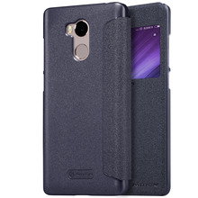 case for xiaomi redmi 4 pro case 5.0 inch phone bag NILLKIN PU leather view window redmi 4 pro cover redmi 4 prime case flip